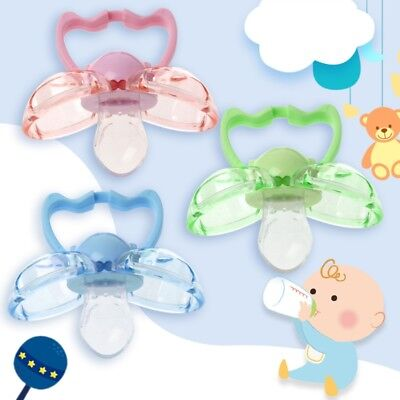 Baby Pacifier Nipple Silicone BPA Free Orthodontic Automatic Anti Dust Soother