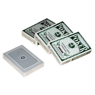 1 Decks of Professional Plastic Coated Playing Cards Poker Size Home Entertainme