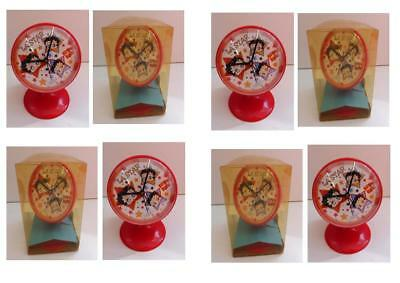 Lot 8 Pendule Vintage Betty Boop Hauteur 13 cm Neuf PROMO !! Voir Description