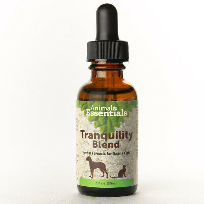 Animal Essentials Tranquility Blend 1 oz | Calming Formula for Dogs and Cats