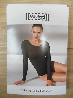 Wolford Buenos Aires pullover size M 42-44, 14-16 UK BNIB new clove