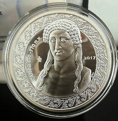 Best price🅰 SILVER SAPPHO 10 EURO 2017 GREECE 🅰️ 34.10 gr Proof 2000 pcs Grece
