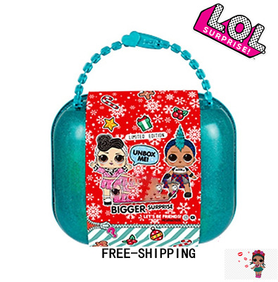 LOL SURPRISE! BIGGER SURPRISE Eye Spy LOL DOLL L.O.L BLUE CASE In Hand Free Ship