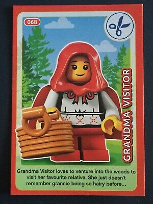 BESTPRICE LEGO #013 CREATE THE WORLD TRADING CARD ROUTEMASTER NEW GIFT