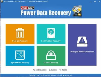 MiniTool Power Data Recovery 7  Lifetime  |  Download Link (for Windows)