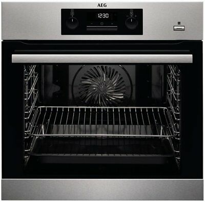AEG BPK35102YM  Built In Pyrolytic Electric SteamBake Single Oven HA2768