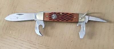 Vintage Official Knife Boy Scouts Of America Stainless Pocket Knife