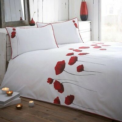 ac7ba1cfd98 RJR.JOHN ROCHA RED  Poppies  Duvet Cover - £33.00