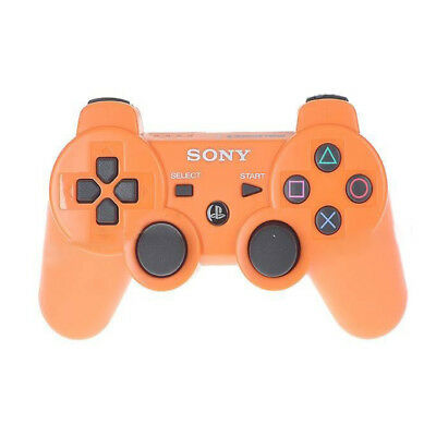 Orange Wireless Bluetooth Gamepad Remote Controller For PS3 Play Station 3 UK