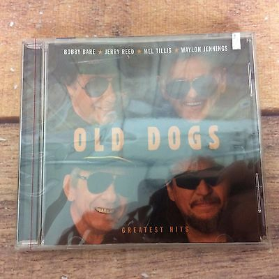 Old dogs Greatest Hits CD New Sealed Jerry Reed Mel Tillis Waylon Jennings