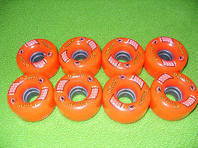 KRYPTO Cruise 62m 78A quad roller skating wheels/speed skate/derby/Bauer/Roces//