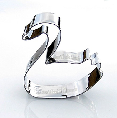 Swan Cookie Cutter - Stainless Steel