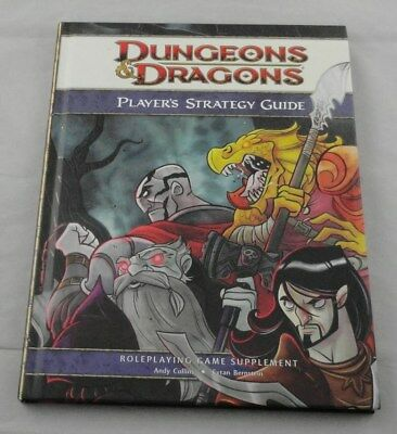 Dungeons and Dragons d20 4th Ed Player's Strategy Guide (HC, 2010) WTC25382