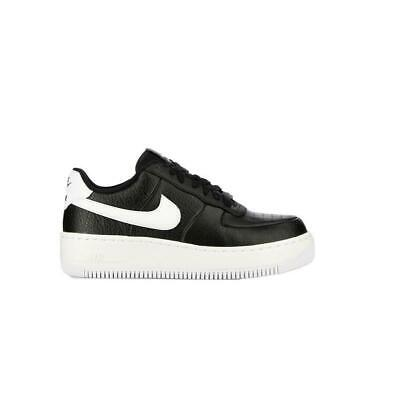 innovative design 79e4c 4d098 Womens NIKE AIR FORCE 1 UPSTEP Black Trainers AV8222 001