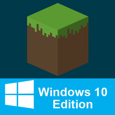 Minecraft Windows 10 Edition | PC | No CD/DVD/BOX | Region Free