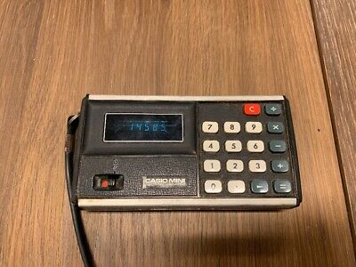 Casio CM-603 - Mini Electronic Calculator - Vintage & Tested!