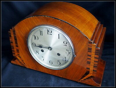 Art Deco Mantel Clock Haller