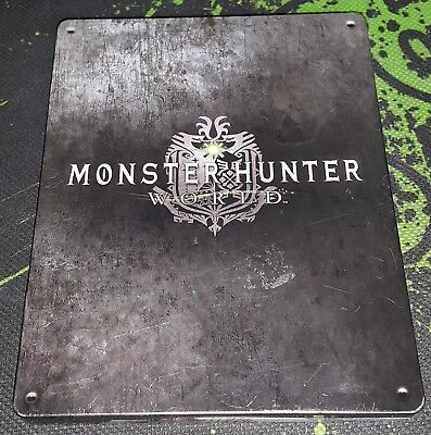 Monster Hunter World on PS4 (Steelbook / Collectors Edition)