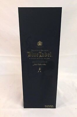 Johnnie Walker Blue Label Scotch Whiskey Empty Box Case 750 ml ~ FREE SHIPPING