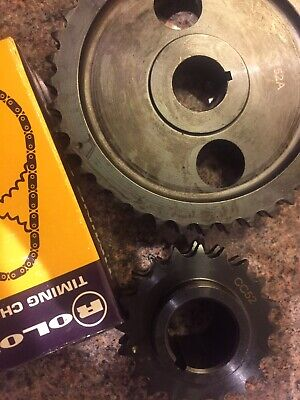 Duplex Steel Lightened timing gear and chain set classic mini High Quality