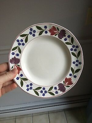 6 Adams England Old Colonial Salad Plates The Holliday's Are Coming Soon