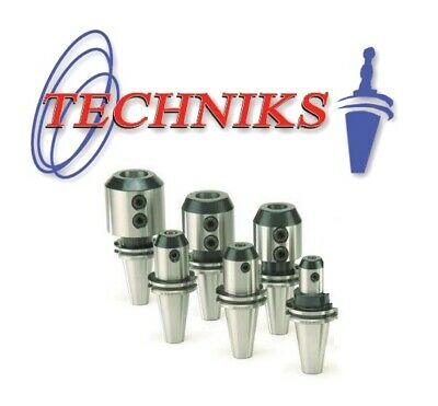 Techniks 3//4 CT40 CNC End Mill Holders CAT40 CoolBlast 1.75 Length 22921-1.75B