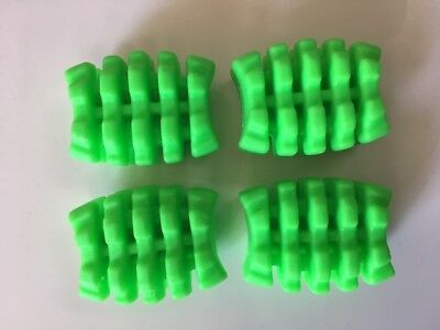 PSE Fang CROSSBOW LIMB DAMPERS GREEN new bow take off's 4 per pack 50% off