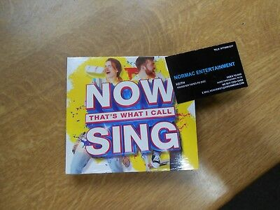 Various Artists - Now That's What I Call Sing (2017)...3CDS