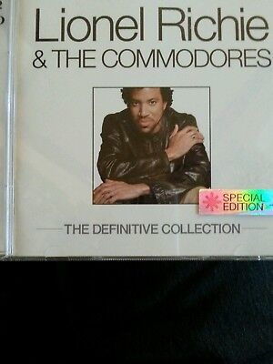 cd lionel richie and the commodores 2cd set the definitive collection