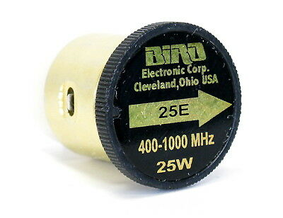 BIRD elemento 400-1000 MHz 25W 25E element 43 tappo 4381 4391A