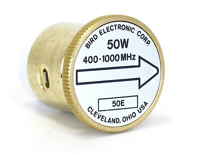 BIRD elemento 50E 400-1000 MHz 50W element 43 tappo 4381 4391A - 1