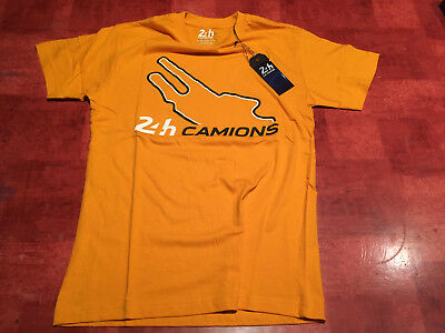 Rare T Shirt 24H Camion Le Mans , Circuit , Neuf Taille S
