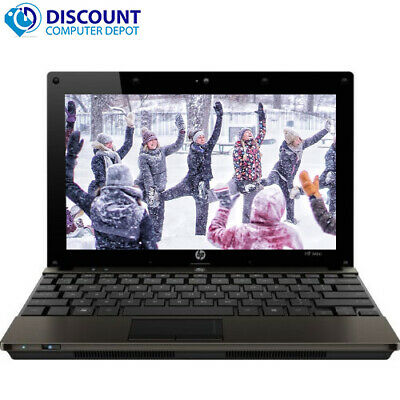 Fast HP Laptop Computer Windows 10 PC Netbook Dual Core Intel CPU 2GB 160GB Wifi
