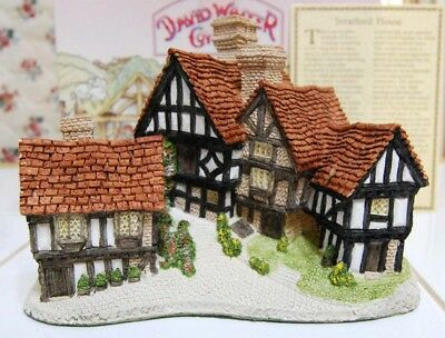 Stratford House by David Winter, Box, COA, Regions Collection, Beutiful piece