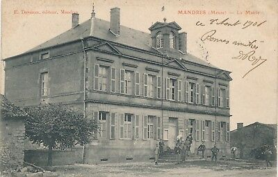 CPA - France - (55) Meuse - Mandres - La Mairie