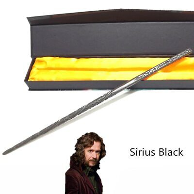 "14"" Harry Potter Sirius Black Magic Wand Stick Cos Costume Props Gift Kids Toys"