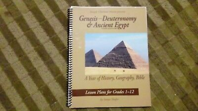 Genesis Through Deuteronomy And Ancient Egypt third edition