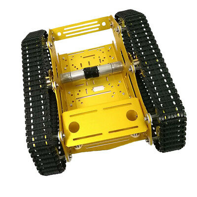 Robot Smart Tank Chassis DIY Kit with High Power Motor Light Shock Absorbed