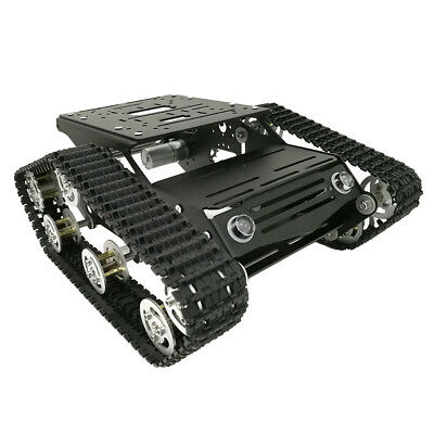Robot Smart Tank Chassis DIY Kit & High Power Motor Light Shock Absorbed