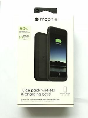 Mophie Qi Wireless charging base 50% for iPhone6 6s 1560mah AND Battery case