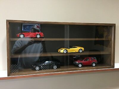 Display case cabinet shelves for diecast collectibles cars (1/18) others-3CWB-8