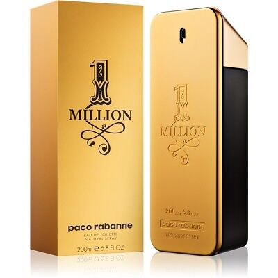 One Million By Paco Rabanne Men Cologne EDT Spray 6.8 oz 200 ml NIB Sealed