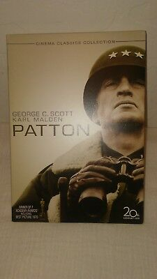 Patton DVD2006 2-Disc Set, Special Edition Gold O-Ring military army war