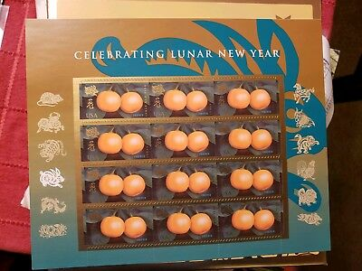 Scott #4492-Forever-2011-Lunar New Year-Year of the Rabbit Sheet of(12)-Mint NH