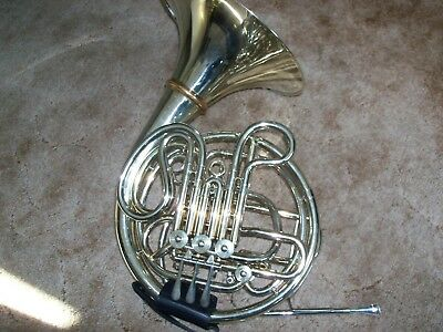 1957 Conn 8DS (8D w/ Screw Bell) Double French Horn w/Protec Case & Mouthpiece