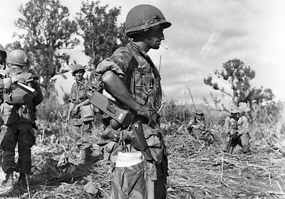 Photo Soldats Français - Indochine - Dien bien phu 10x15cm réf A7430