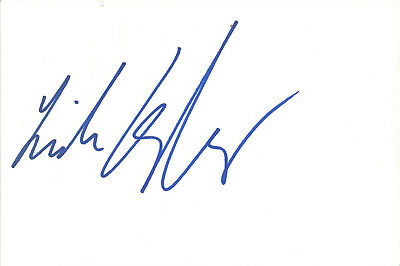 Linda Kozlowski Crocodile Dundee In-Person Boldly Signed Card