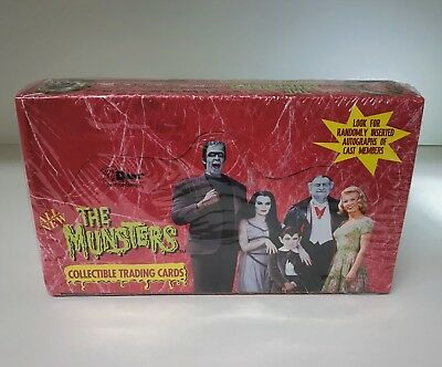 The Munsters Series 2 - Sealed Trading Card Hobby Box - Dart 1997