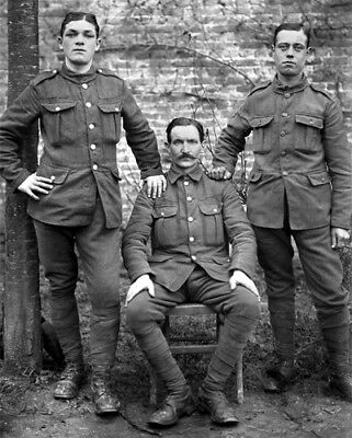 Russian Soldiers WWI Photo