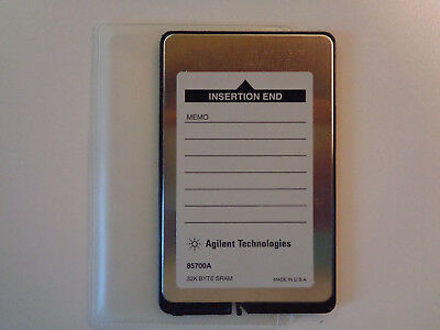 HP AGILENT 85700A Spectrum Analyzer 32KB RAM Memory Card - (New Old Stock)